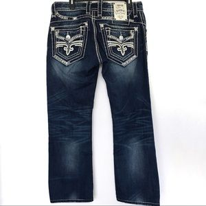 Sean relaxed Straight Rock Revival Jeans 32 X 28